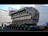 Amazing Hard Work Manufacturing - Installation Biggest Monster Mega DIESEL ENGINE Axis Best Ever