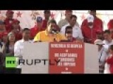 Anti-US Rally Held In Venezuela After US Imposes Sanctions