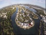 Aerial Drone Flight Over Noosa, Australia