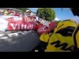 Adam Yates Inflatable Banner Crash Tour De France 2016