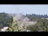 Artillery Firefight Between The Ukrainian Army And Rebels Of LPR
