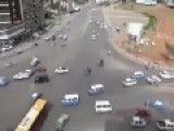 Addis Ababa Crazy Traffic Near Meskel Square