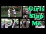 Asking Girls To Slap Me - LiuTube Social Experiment