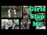 Asking Girls To Slap Me - LiuTube Social Experiment