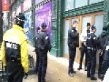 Alleged Wrongdoer Is Detained By Police In Downtown Chicago While A Passerby Films The Incident Because Of Concern For The Guy