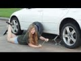 A Womens Guide To Changing A Tire