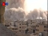 Another View Of The Tunnel Bomb Attack Which Destroyed The Assad Regime's Fortified Outpost At Al-Dahrooj Oct 14th, '14