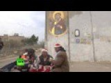 Arab Terrorists Dressed As Santa Handled By Israel IDF
