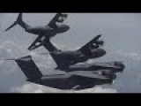 Awesome Footage Of The New Airbus Defense And Space A400M