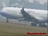 Airbus A340 China Airlines Take-off