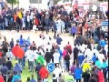 Angry Scenes At Spanish Bull-running Event
