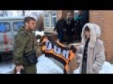 Alexander Rostov Helps Deliver Russian Humanitarian Aid To The Masses In The Donetsk Peoples Republic