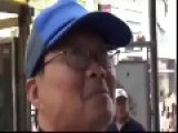 Asian Man Spits In A Racist Black Man's Face
