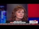 Actress Susan Sarandon Destroys Hillary Clinton @ 1:25 NEW