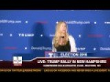 Ann Coulter Speaks At Donald Trump Event In Milford, NH