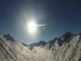 Army Infantry Arctic Jump Into Geronimo DZ, Alaska - POV Cam
