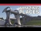 Archimedes And A Boat Lift: The Falkirk Wheel