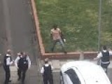 Armed Man Tasered By UK Police After Allegedly Shouting I Am Your King During Tense Stand-Off!
