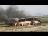 Afghanistan Fuel Tanker Crash Kills More Than 70 People