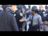 A Black Counter-protester Gets Arrested