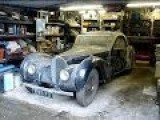 Amazing 1937 Bugatti Atalante 57S Barn Find