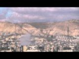 Amazingly Explosive ASSad Shells Impacting In The Ruins Of Jobar Damascus Hitting Some Random Things