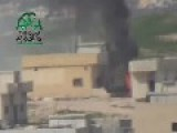 Assadist Tank Shot & In Flames Khan Sheikkoun