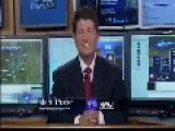 Anchor Asks Meteorologist About His Little Weiner...Lol