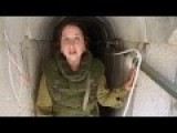A Guided Tour At A Hamas Terror Tunnel Featuring A Female Lieutenant