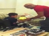 Anderson Silva Give To Little Fan In Wheelchair An Beautifull Surprise