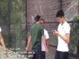 Asian Thug Knocked Out In One Punch
