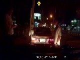At Fault Road Accident Drunk Thai Driver Starts Throwing Punches