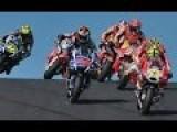 Andrea Iannone Head Butts Seagull Moto GP