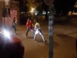 Argentina Street Fight Ends Almost Before It Starts