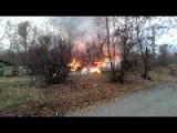 After Ukraine Army Used Incendiary Ammunition In Donetsk