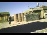 Aftermath Of Taliban Firing RPGs At US Base Caught On Security Cam