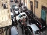 A Fiat 500 Creates A Surreal Traffic Jam In Naples, Italy