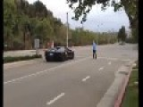 Angry Guy Attacks Lamborghini