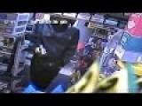 Armed Teens Raid Gas Station