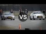 Aston Martin V8 Vantage Vs GTR Switzer P800, Cayman S, BMW M5 F10, Dodge Viper, Carrera