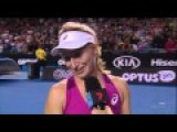 Aussie Tennis Player Is Good From Behind