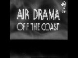 Air Drama In The English Channel - Nazi Bombers Attack British Ships HD
