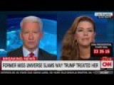 Alicia Machado Admits To Being The Getaway Driver In A Murder Live On CNN!