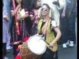 A Blind Indian Girl Drumming - AMAZING Talent!