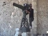 A Syrian Sunni Arab Citizen Soldier Gets A Hit On An Assad Regime MiG-23, With A TOW ATGM: Aleppo Nov 7th,