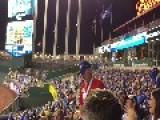 Amazing Peanut Toss At World Series