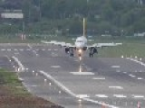 Airliners Struggle To Cope With Windy Landings