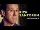 A Message From Rick Santorum