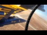 A Blue Angels Pilot Taking A First-person Video Of Their Insanely Close Flight