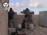 A Syrian Sunni Arab Citizen Tank Hunter Engages An Assad Crime Dynasty T-55, With A TOW ATGM: Deir Al-Adas Feb 9th,